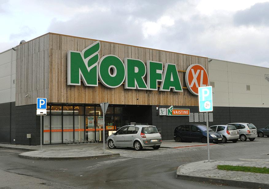 """""""NORFA"""" GROCERY STORE IN KLAIPĖDA"""