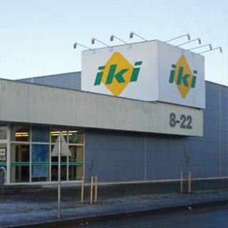 """""""IKI"""" SHOPING CENTER IN TAURAGE"""